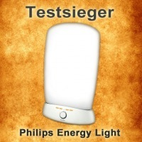 Testsieger Lichttherapielampe Philips Energy Light